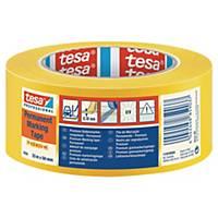 Golvtejp Tesa Professional Premium, PVC, gul