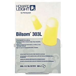 Bouchons d oreilles Honeywell Bilsom 303L - 33 dB - 500 paires