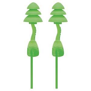 Bouchons d oreilles cordés Moldex Twister Trio Cord - 33 dB - la paire