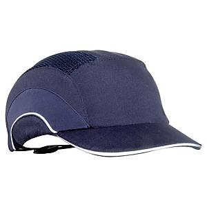 JSP® A1+ stossfeste Kappe, Schild 5 cm, blau