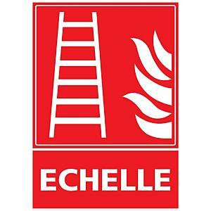 Panneau autocollant - Echelle - A3