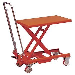 Table élévatrice manuelle Stockman BS25 - 830 x 500 mm - capacité 250 kg