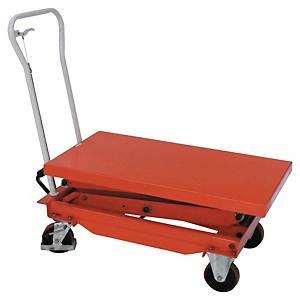 Table élévatrice manuelle Stockman BS100 - 1200 x 800 mm - capacité 1000 kg