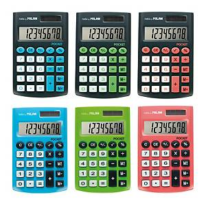 MINI CALCULADORA 8 DIG POCKET TOUCH