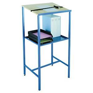 Pupitre d atelier Provost Eco - H 119 cm - bleu