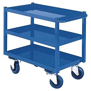 PROVOST 30105 WORKBENCH TROLLEY 3LEV BLU