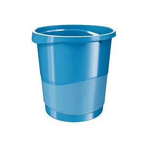 ESSELTE VIVIDA WASTE BIN 14L BLUE