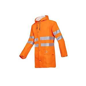 Sioen Unzen rain parka Hi-viz orange - size L