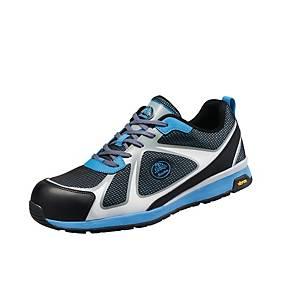 Bata Bright 021 veiligheidssneakers, type S1P, blauw/zwart, maat 43, per paar