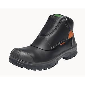 Chaussures de soudure Emma Vulcanus HRO, S3, SRC, noires, pointure 42, la paire