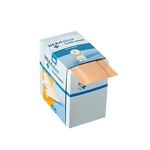 Pansements en textile CMT HEKA® PLAST, dans une boîte distributrice, le rouleau
