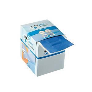 Pansements détectables avec distributeur CMT HEKA® PLAST, bleus, le rouleau