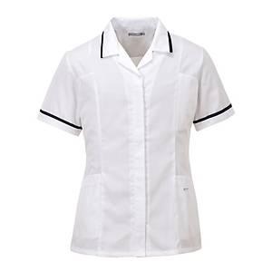 Portwest LW20 tuniek dames, polyester/katoen, wit, maat 3XL, per stuk