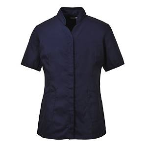 Portwest LW12  tuniek dames, polyester/katoen, marineblauw, maat XL, per stuk