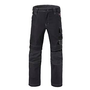Havep 80229 Attitude worktrousers cotton/polyester 310gr black/charcoal- Size 54