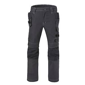Havep 80230 Attitude worktrousers cotton/polyester 310gr charcoal - Size 56