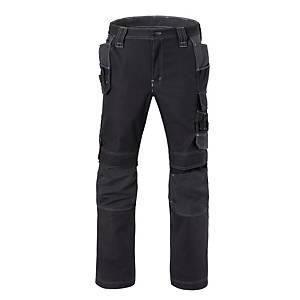 Havep 80230 Attitude worktrousers cotton/polyester 310gr black/grey - Size 54