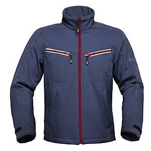 Havep 40145 Attitude softshell polyester 300gr navy blue - Size XXL