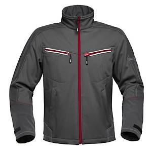 Havep 40145 Attitude softshell polyester 300gr antraciet - Size S