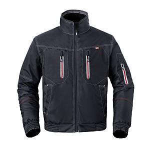 Havep 50186 Attitude jacket polyester 195gr black/charcoal - Size 3XL