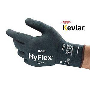 Ansell HyFlex 11-541 cut resistant gloves - size 9 - pack of 12 pairs