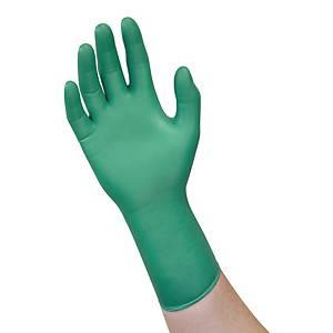 Rękawice ANSELL Microflex 93-260, zielone, rozmiar 7,5/8, 50 sztuk