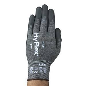 Ansell HyFlex 11-531 snijbestendige handschoenen nitril gecoat, maat 8, 12 paar