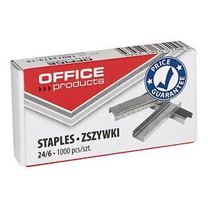 Zszywki 24/6 OFFICE PRODUCTS, 1000 sztuk