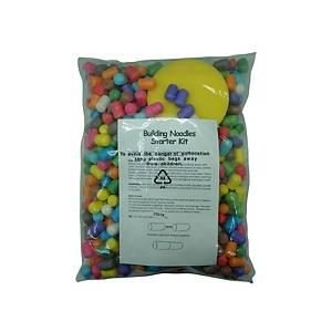 Pack de 600 bolsas de bolas de maís Abc Toys - colores surtidos