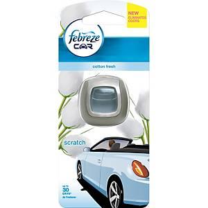 FEBREZE CAR VENT CLIP COTTON 200ML