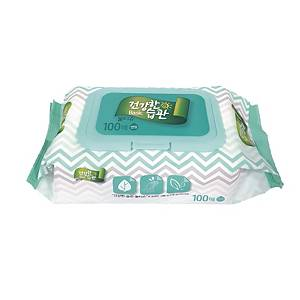 COTTONCLUB WET TISSUES 100SHEETS
