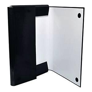 Teczka na rzep OFFICE PRODUCTS 21187411-05, A4, 4 cm, czarna