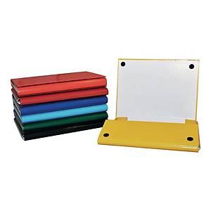 Teczka na rzep OFFICE PRODUCTS 21187411-01, A4, 4 cm, niebieska