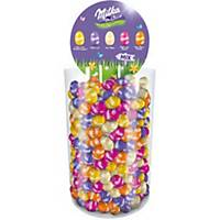 Milka tubo Easter eggs mix of 5 flavours - 3 kg