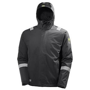 Helly Hansen Aker winterjacket charcoal/black - size XXL