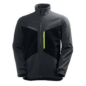 Helly Hansen Aker Softshell charcoal/black - size S