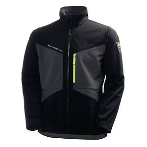 Softshell Helly Hansen Aker, noir/anthracite, taille L, la pièce