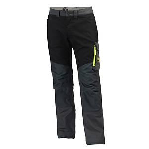 Pantalon de travail Helly Hansen Aker, anthracite/noir, taille 44, la pièce