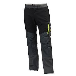 Pantalon de travail Helly Hansen Aker, anthracite/noir, taille 48, la pièce
