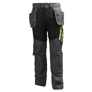 Helly Hansen Aker construction trousers charcoal/black - size 58