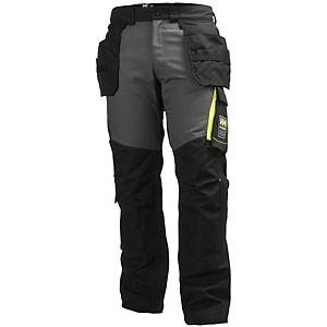 Helly Hansen Aker construction trousers black/charcoal - size 58