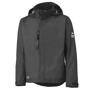 Helly Hansen Haag shell jacket charcoal - size M