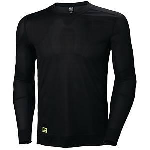T-shirt manches longues thermique Helly Hansen Lifa, noir, taille M, la pièce