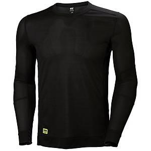 Helly Hansen Lifa thermische shirt met lange mouwen, zwart, maat L, per stuk