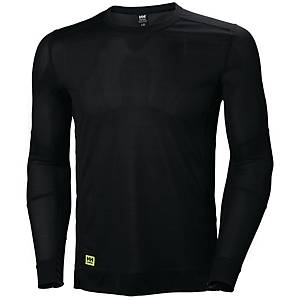 T-shirt manches longues thermique Helly Hansen Lifa, noir, taille XXL, la pièce