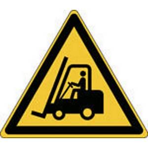 Brady W014 waarschuwing transportvoertuigen, zelfklevend, 200 x 173 mm, per stuk