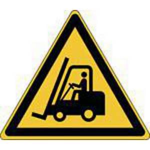 Panneau d avertissement véhicules de transport Brady W014, PP, 315 x273 mm, 1x