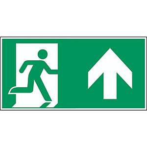 Brady pictogram PP A0/E002 Emergency exit right straight 400x200mm
