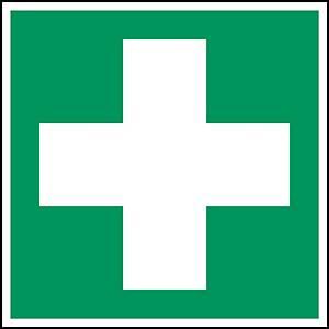 Brady PP pictogram E003 First aid 200x200mm