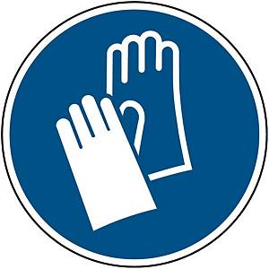 Brady PP pictogram M009 Wear protective gloves 200mm